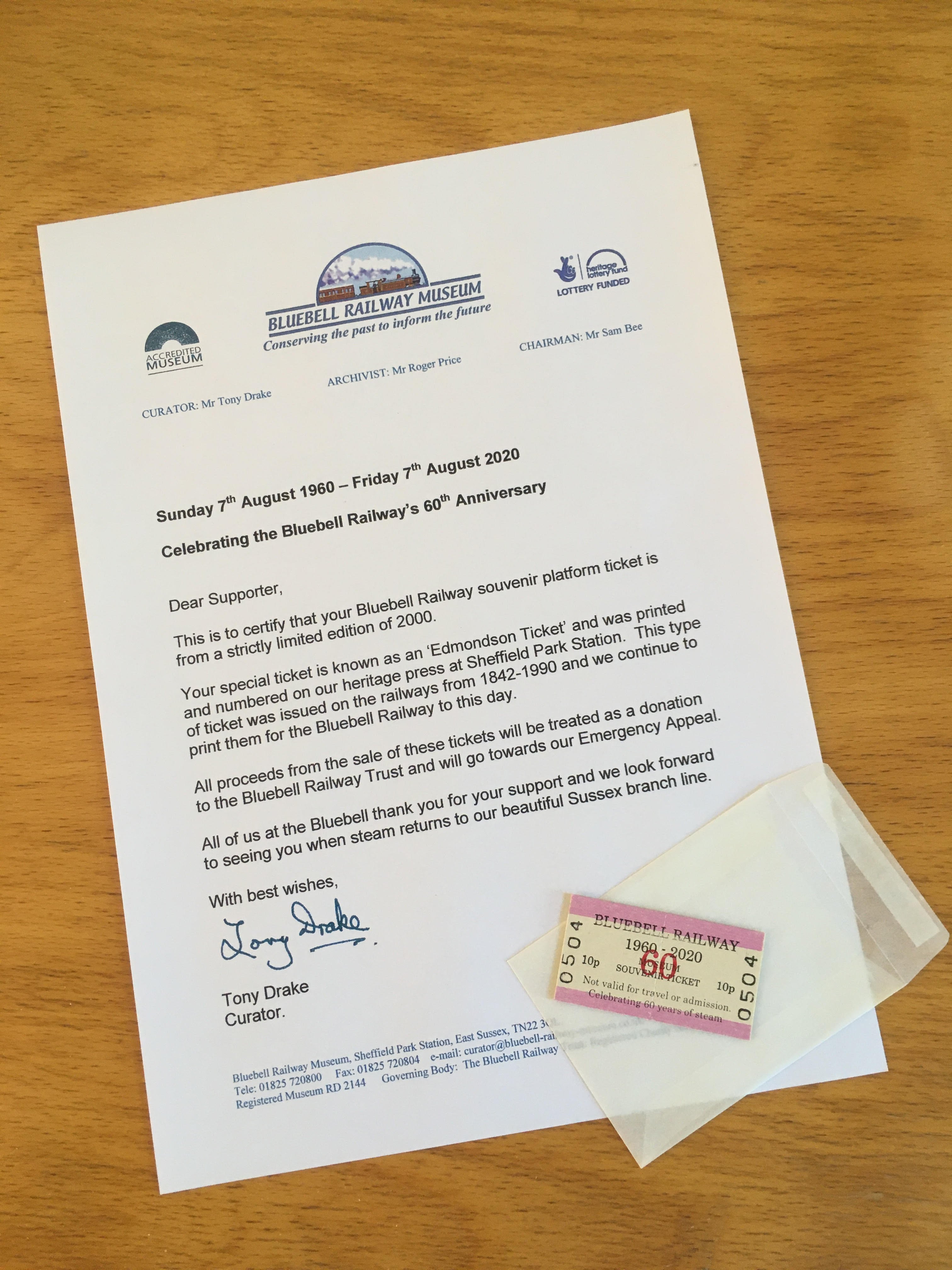 bluebell_railway_60th_anniversary_ticket_letter_4032